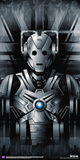 Doctor Who- Silver Cyberman Posters