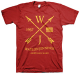 Waylon Jennings- American Made T-shirts