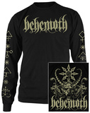 Long Sleeve: Behemoth- Demon (Front/Back) T-shirts