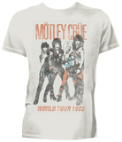 Motley Crue- Vintage '83 World Tour T-Shirt