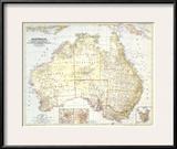 1948 Australia Map Print