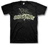 Dropkick Murphy'S- Skull Bagpipe Mohawk Shirt