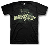Dropkick Murphy'S- Skull Bagpipe Mohawk Camiseta