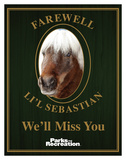 Parks And Recreation- Farewell Lil Sebastian Prints
