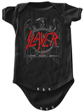 Infant: Slayer-  Black Eagle Onesie ロンパース