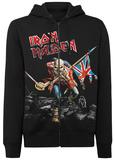 Zip Hoodie: Iron Maiden- The Trooper Zip Hoodie
