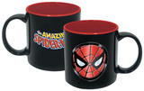 Marvel Spider-Man Iridescent Face 20 Oz Mug Mug
