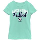 Young Girls: COPA America- Argentina Futbol T-Shirt