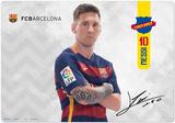 FC Barcelona Lionel Messi Desk Mat - Desk Mat