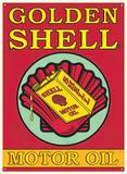 Shell Motor Oil - Metal Tabela