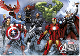 Marvel Avengers Desk Mat Skrivebordsunderlag