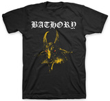 Bathory- Yellow Baphomet T-shirts