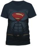 Batman vs. Superman- Superman Costume Tee T-Shirts