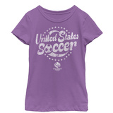 Young Girls: COPA America- United States Soccer T-shirts
