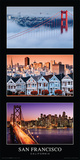 California- San Francisco Tript Posters