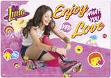 Soy Luna Enjoy What You Love Desk Mat Desk Mat