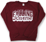 Long Sleeve: Falling In Reverse- Las Vegas, Nevada (Front/Back) T-Shirt