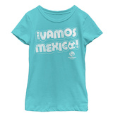 Young Girls: COPA America- Vamos Mexico T-Shirt