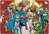 DC Comics Desk Mat Fleece-Decke