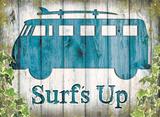 VW Camper Surf's Up Plaque en métal