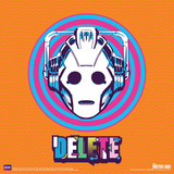 Doctor Who- Cyberman Delete Posters