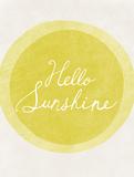 Bonjour mon rayon de soleil Posters par Lottie Fontaine