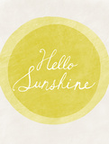 Hello Sunshine Posters by Lottie Fontaine