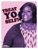 Parks And Recreation- Donna Treat Yo Self Plakater