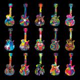 Howie Green- Pop Art Guitars Prints by Howie Green