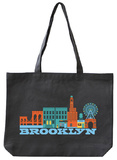 Brooklyn Asphalt Canvas Tote Tote Bag