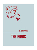 The Birds Poster by David Brodsky