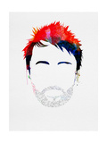 Thom Watercolor Prints by Lora Feldman