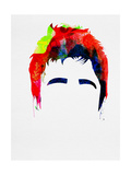 Noel Watercolor Poster by Lora Feldman