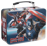 Marvel Captain America Civil War Tin Lunch Box Lunch Box