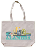 Alameda Natural Canvas Tote Tote Bag