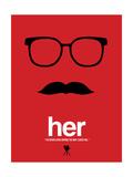 Her Poster von David Brodsky