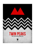 Twin Peaks Premium Giclee Print by David Brodsky