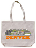 Denver Natural Canvas Tote Tote Bag