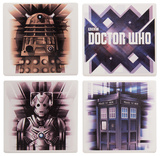 Doctor Who 4 Pc. Ceramic Coaster Set Coaster
