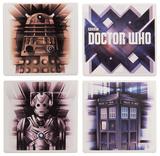 Doctor Who 4 Pc. Ceramic Coaster Set Coaster
