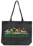 Oakland Asphalt Canvas Tote Tote Bag