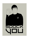 Spock You Prints by David Brodsky