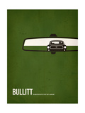Bullitt Poster von David Brodsky