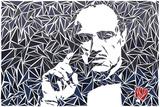 Vito Corleone Poster von Cristian Mielu