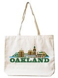 Oakland Natural Canvas Tote Tote Bag