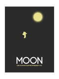 Moon Posters by David Brodsky