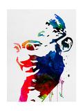 Mahatma Gandhi Watercolor Plakater af Lora Feldman