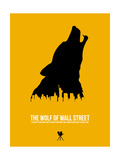 The Wolf of Wall Street Poster von David Brodsky