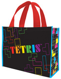 Tetris Large Recycled Shopper Tote Bag