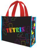 Tetris Large Recycled Shopper Tote Bag